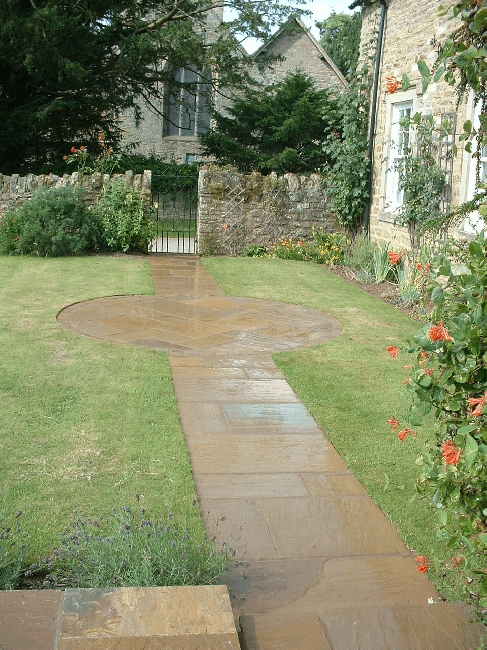 Natural Sone Paving - Autumn Brown