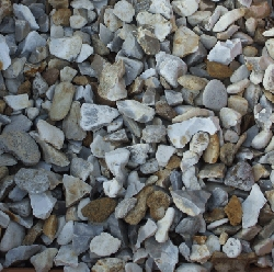 Bulk bag of Cream Flint (20mm)