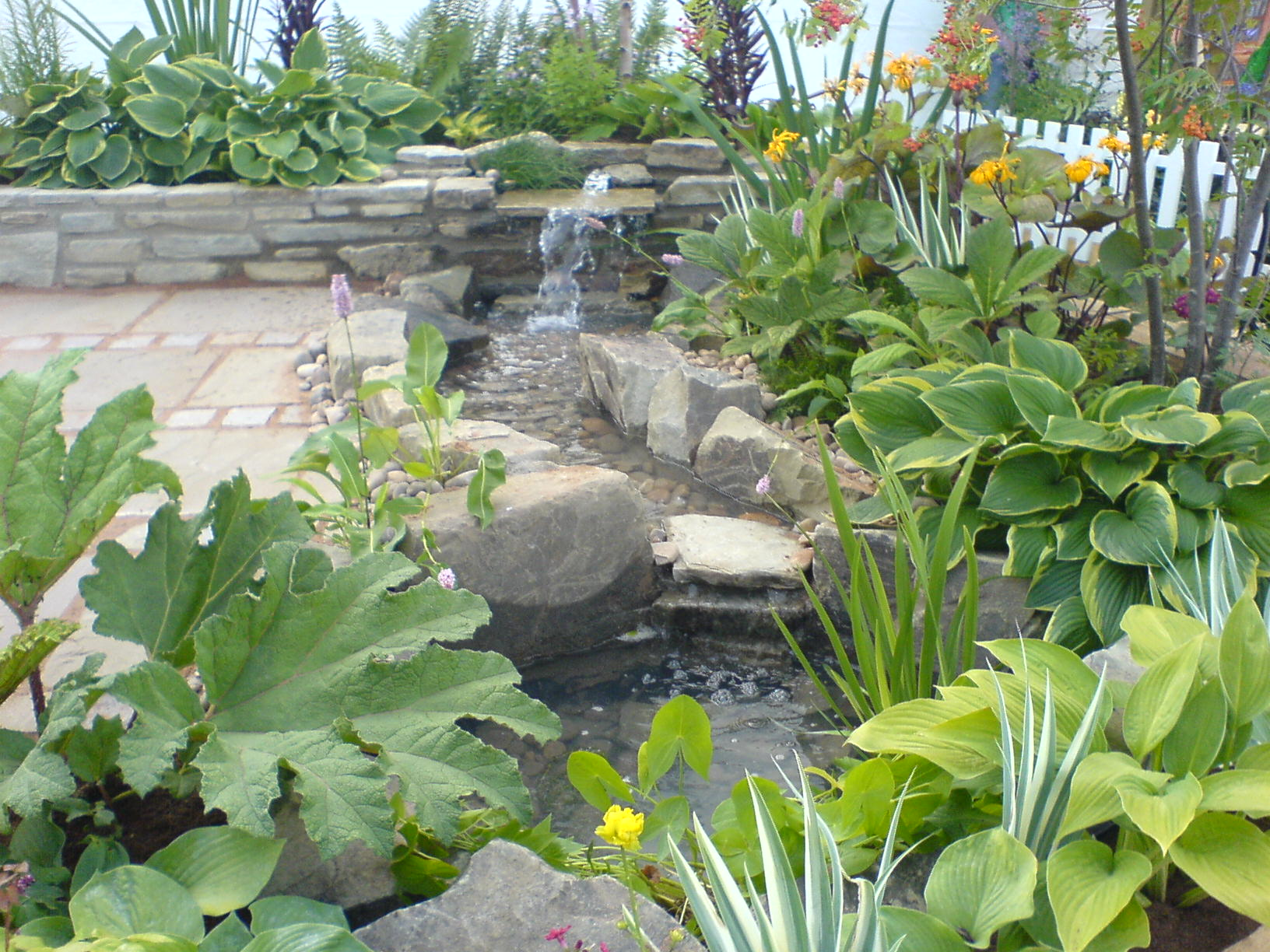 Garden Design With Garden Design Services Ornamental Stonework And Water  Features With Backyard Patio Ideas From
