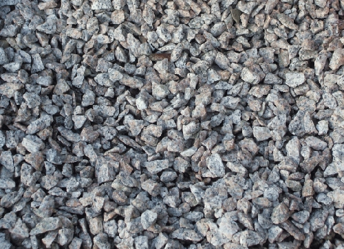Grey Granite Chippings Grey Granite Test Sample