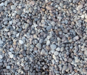 Bulk Bag of River Stone Pebbles (8mm-14mm)