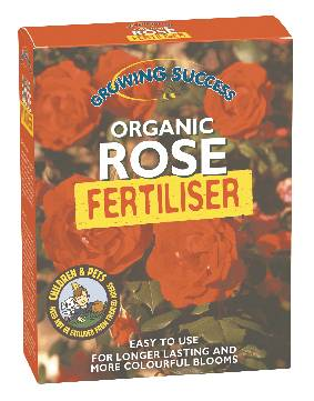 Organic rose fertiliser
