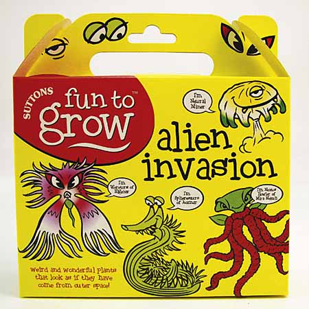 Fun To Grow - Alien Invasion