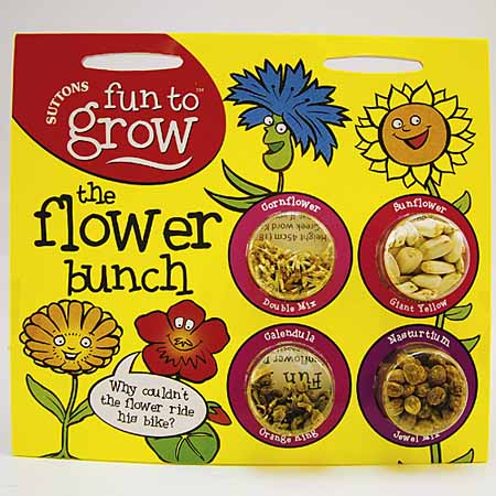 Fun to Grow - Flower Bunch Seeds