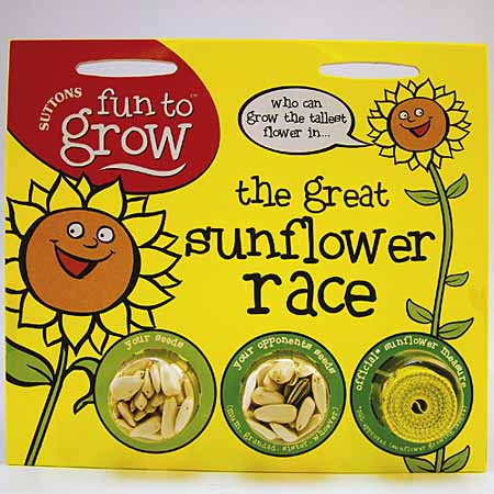 Fun to Grow - The Great Sunflower Race