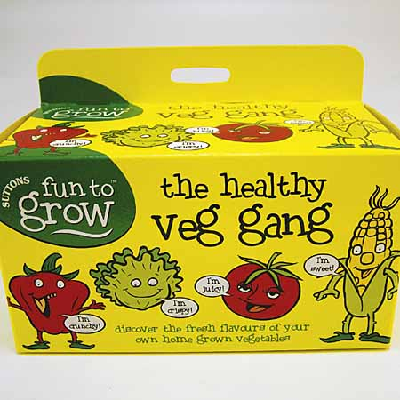 Fun to Grow - The Healthy Veg Gang