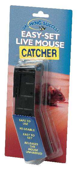 Easy-set live mouse catcher