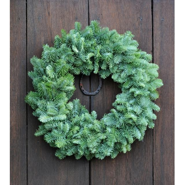 Natural Plain Wreath 10in