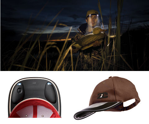 Solar Light Cap (brown)