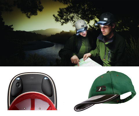 Solar Light Cap (Green)