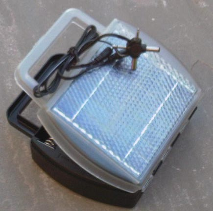 Solar battery charger (AAA/AA/C/D) with multi-jack