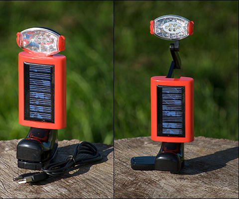 Solar & Dynamo Reading Light
