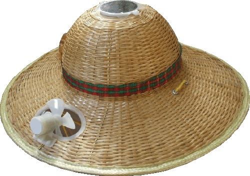 Bamboo solar ladies sun hat