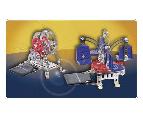 Solar Big Wheel Construction Kit