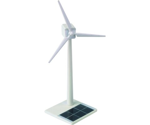 White Plastic Wind Turbine