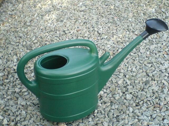 Green 10 Litre Watering Can